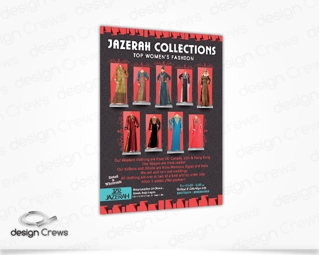 Website Design Jazerah Collections
